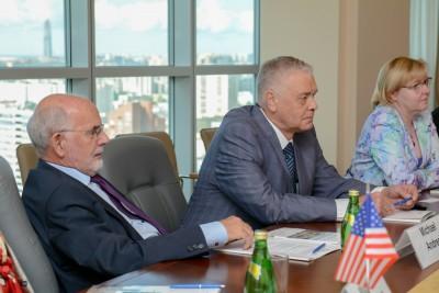 Подписание договора о сотрудничестве с MDACC 2017
