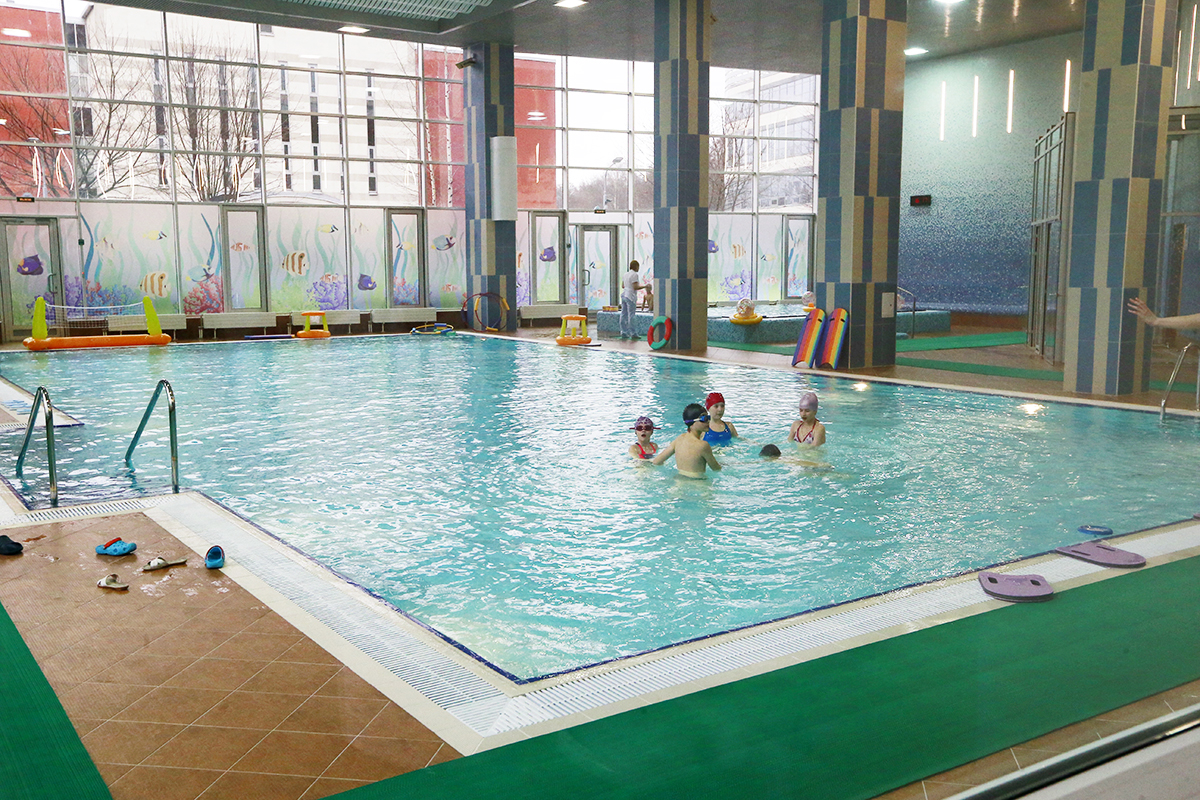 Бассейн в Детском лечебно-реабилитационном комплексе