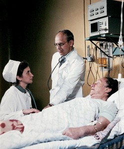 Prof. Vladimir Almazov in the Intensive Care Unit